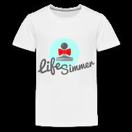 Kids' Shirts ~ Kids' Premium T-Shirt ~ Red-Bow Logo Kids