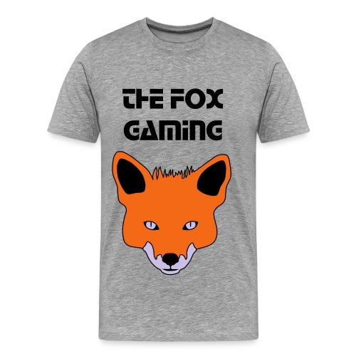 TheFoxGaming With Logo (Adult) - Men's Premium T-Shirt