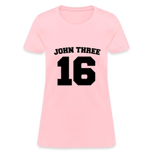 John 3:16 - Women's T-Shirt