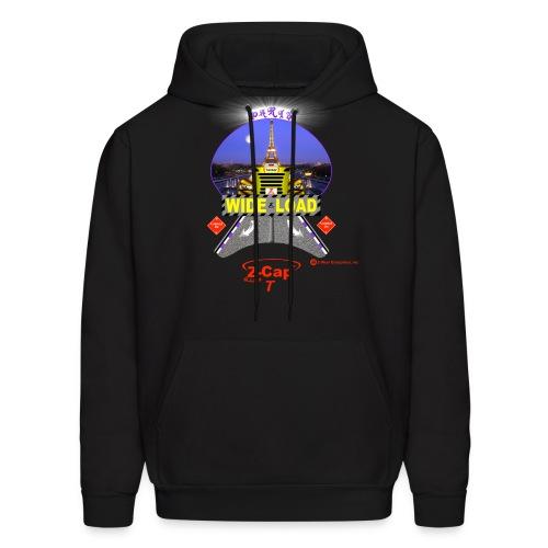 Z-Cap T Wide Load with Paris background - Men's Hoodie