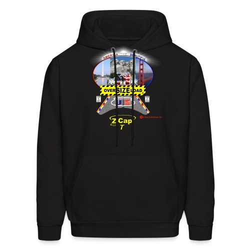 Z-Cap T Over Size Load America the Beautiful Edition - Men's Hoodie