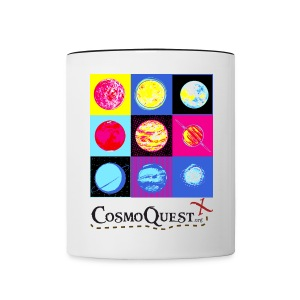 Contrast Coffee Mug - Fund science and fill up on coffee, tea, or cocoa all in one awesome mug.