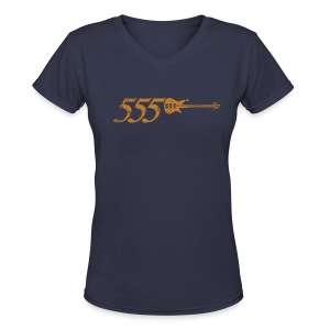 555 - Women's V-Neck T-Shirt