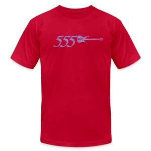 555 - Men's T-Shirt by American Apparel