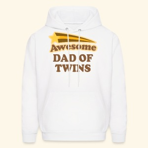 Dad Of Twins Hoodie (Awesome) - Men's Hoodie