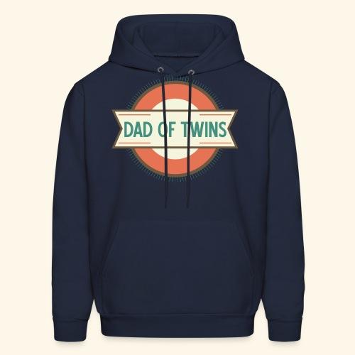 Dad Of Twins Mens Hoodie - Men's Hoodie