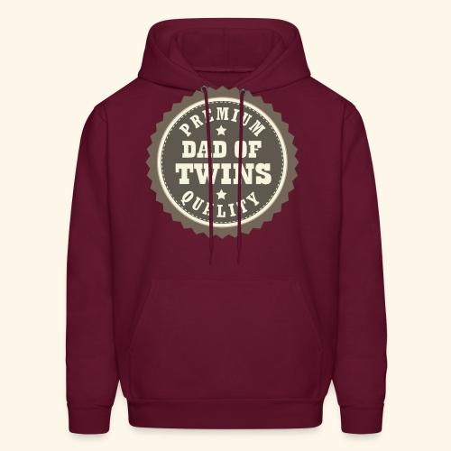 Dad Of Twins Hoodie (Premium Quality logo) - Men's Hoodie