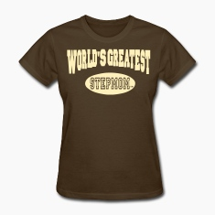 WORLD'S GREATEST STEPMOM Women's T-Shirts
