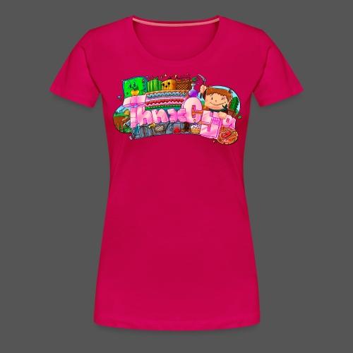WOMENS - 'Hearts' - Women's Premium T-Shirt