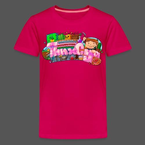 JUNIOR - 'Hearts' - Kids' Premium T-Shirt