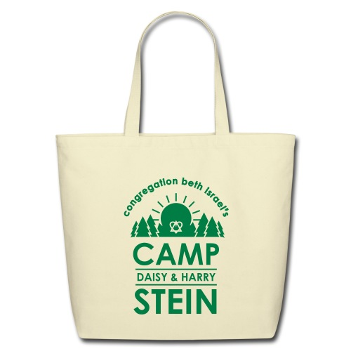 campstein_vert_black - Eco-Friendly Cotton Tote