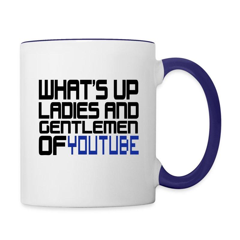 yputube - Contrast Coffee Mug