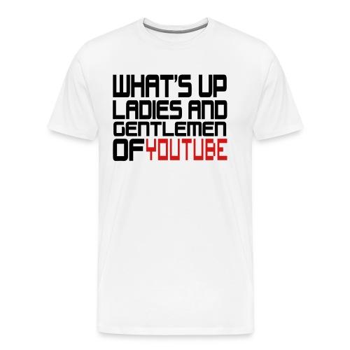 yputube - Men's Premium T-Shirt