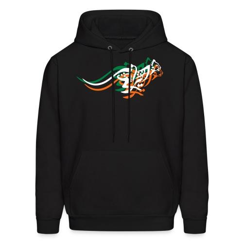 Blazing Cheetah Men's Sweater - Men's Hoodie