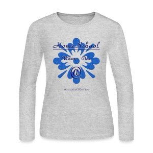 Homeschool Where it's At - Women's Long Sleeve Jersey T-Shirt