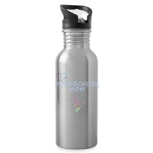 Homeschool Mom Floral - Water Bottle