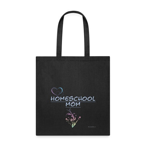 Homeschool Mom Floral - Tote Bag