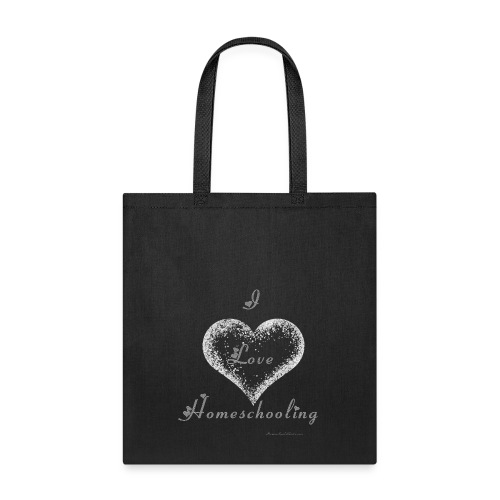 I Love Homeschooling - Tote Bag