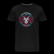 T-Shirts ~ Men's Premium T-Shirt ~ Muttville's AY CHIHUAHUA tee for men