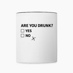are you drunk Bottles & Mugs