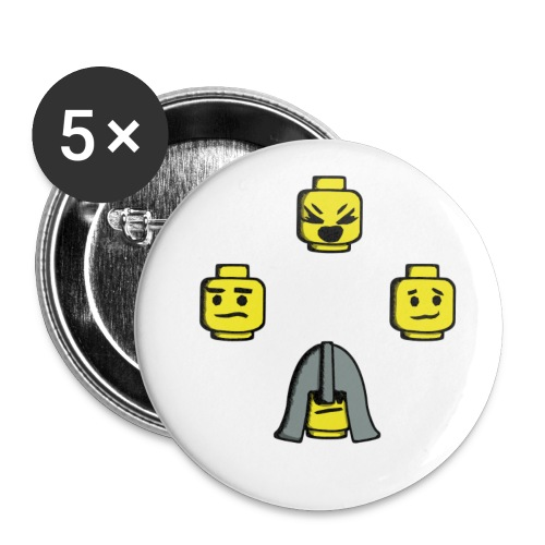 SOAL Rad Badge! - Buttons large 2.2'' (5-pack)