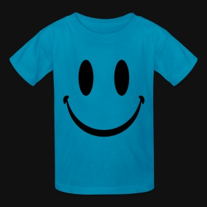 Yellow Smiley Face - Kids' T-Shirt