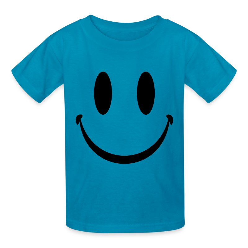 yellow smiley face t shirt spreadshirt. Black Bedroom Furniture Sets. Home Design Ideas