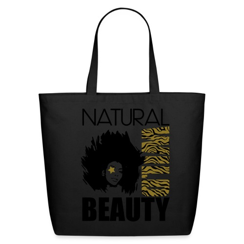 NATURAL WILD BEAUTY Natural Cotton Canvas Tote - Eco-Friendly Cotton Tote