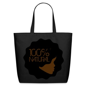100% Natural Cotton Canvas Tote - Eco-Friendly Cotton Tote