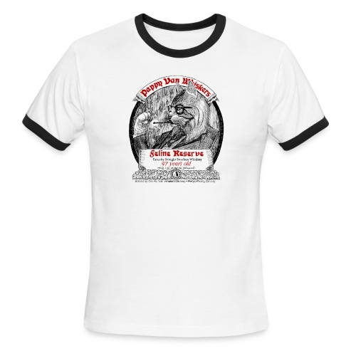 Pappy Van Whiskers - Men's Ringer T-Shirt