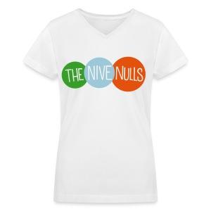 The Nive Nulls (Women's V-Neck) - Women's V-Neck T-Shirt