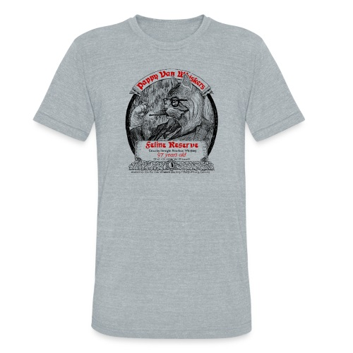 Pappy Van Whiskers - Unisex Tri-Blend T-Shirt