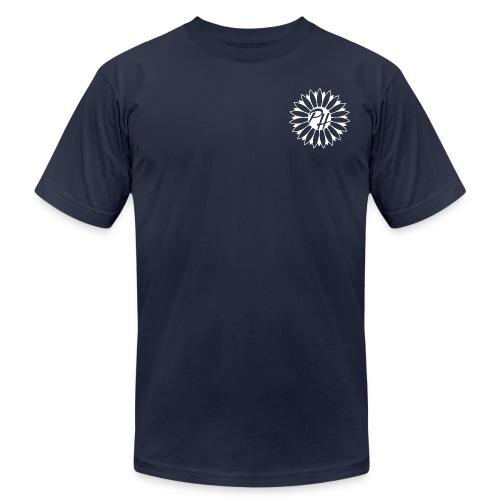 Plain Logo - White - Men's  Jersey T-Shirt
