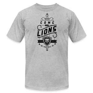 Lions Mens' Heather Tee - Men's T-Shirt by American Apparel