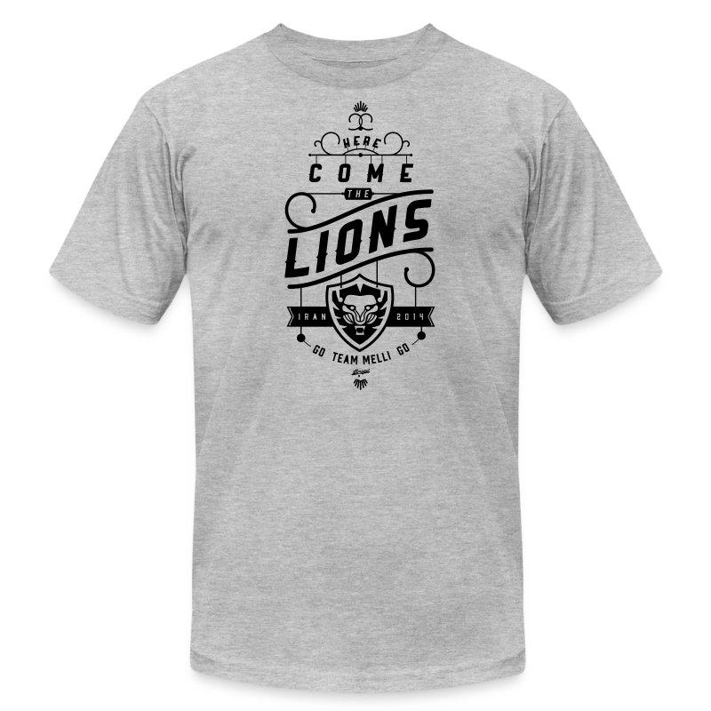 Lions Mens' Heather Tee - Men's Fine Jersey T-Shirt