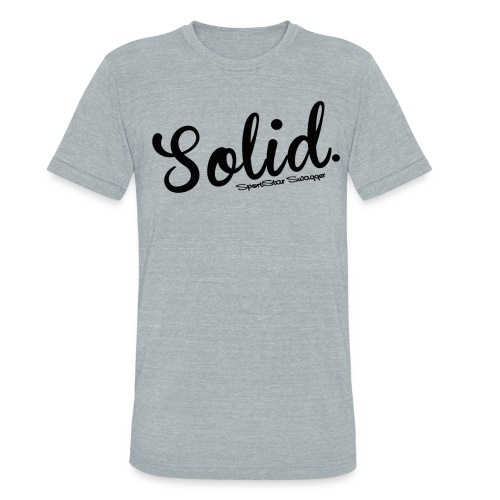 Torrey Solid Super Soft T - Unisex Tri-Blend T-Shirt