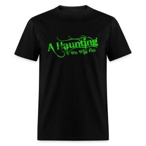 AHWWG Green Logo Front  - Men's T-Shirt