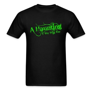 AHWWG Green Logo Front  - Men's T-Shirt