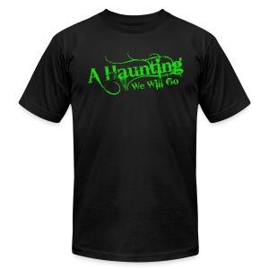 AHWWG Green Logo Front  - Men's Fine Jersey T-Shirt