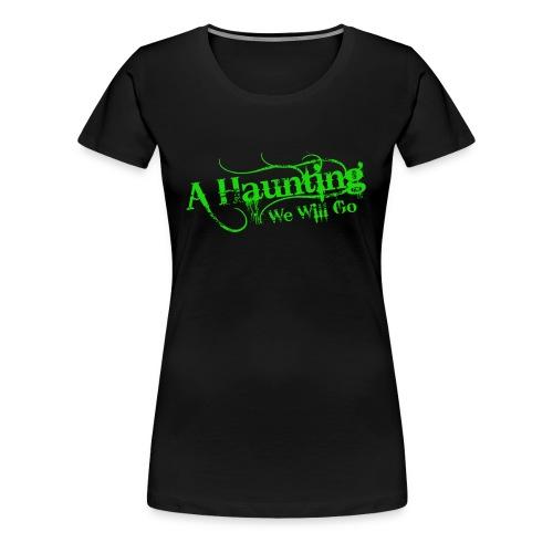 AHWWG Green Logo Front  - Women's Premium T-Shirt