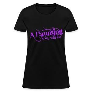AHWWG Purple Logo Front  - Women's T-Shirt