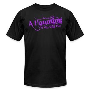 AHWWG Purple Logo Front  - Men's Fine Jersey T-Shirt
