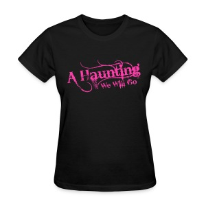 AHWWG Pink Logo Front  - Women's T-Shirt