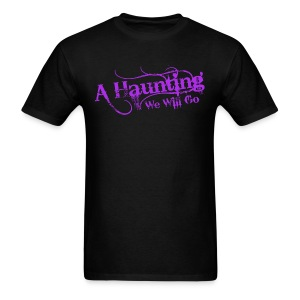 AHWWG Purple Logo Front  - Men's T-Shirt