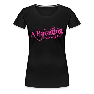AHWWG Pink Logo Front  - Women's Premium T-Shirt