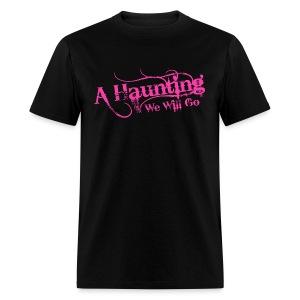 AHWWG Pink Logo Front  - Men's T-Shirt