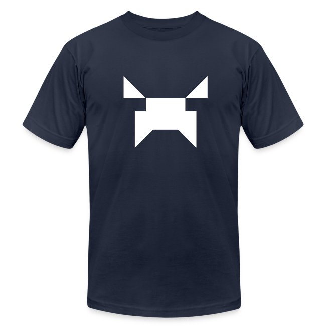 Wobblecraft Face Tee Navy