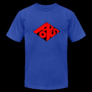 PoPS Logo Men's T-Shirt - American Apparel - Men's Fine Jersey T-Shirt