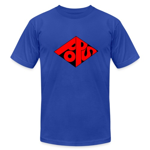PoPS Logo Men's T-Shirt - American Apparel - Men's Jersey T-Shirt