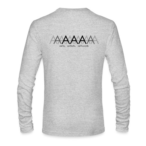 Men's Long Sleeve T-Shirt by American Apparel Arts Artists Artwork - Men's Long Sleeve T-Shirt by Next Level